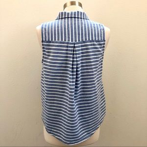 Forever 21 Tops - Forever 21 | Striped Button-Up Tank